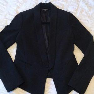 Express black blazer, size 0